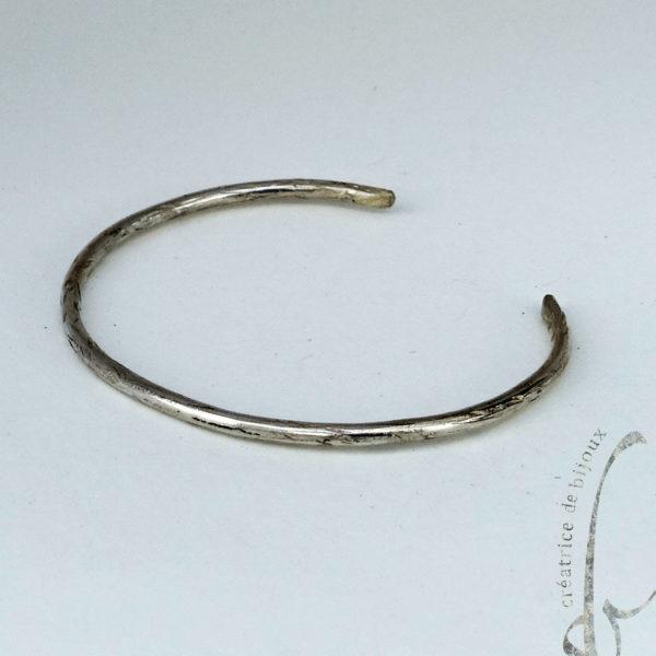 bracelet argent SB creatrice de bijoux