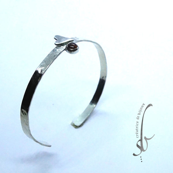 Bracelet argent fin